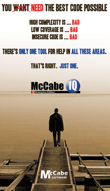 McCabe IQ Enterprise Edition - 30 Day Trial